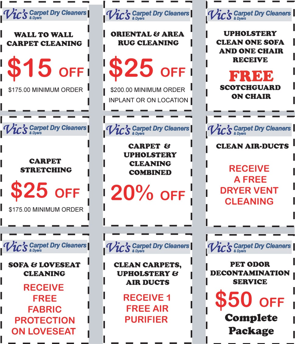 Vic's Coupons