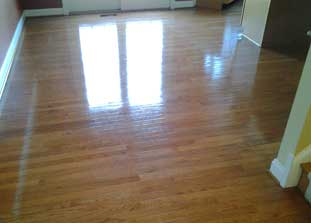 Professional Wood Floor Cleaning